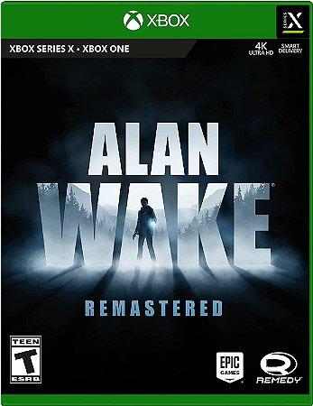 Alan Wake Remastered - Xbox One - Mídia Digital