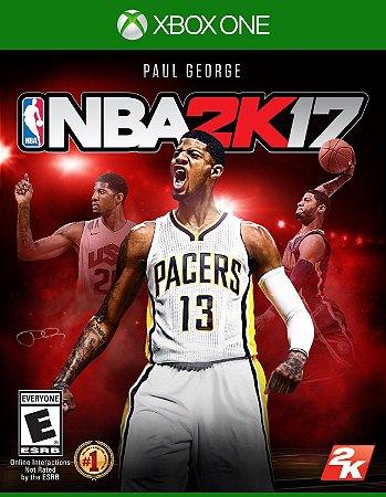 NBA 2K17  - Xbox One - Mídia Digital