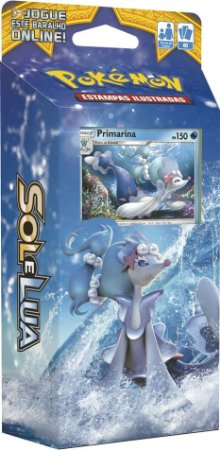 Pokemon - Deck - Sol e Lua - Maré Brilhante (Primarina)