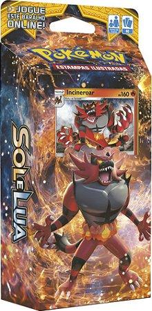 Pokemon - Deck - Sol e Lua - Rugido Ardente (Incineroar)