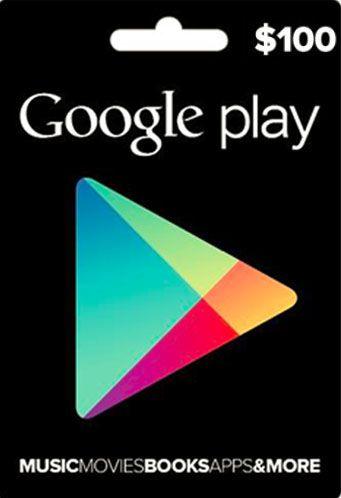 Google Play - Cartão $100 Dólares - USA
