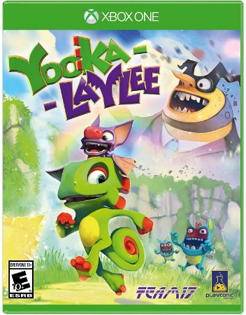 Yooka-Laylee  - Xbox One - Mídia Digital