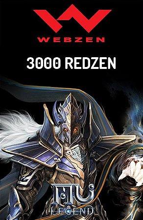Mu Legend - 3000 Redzen