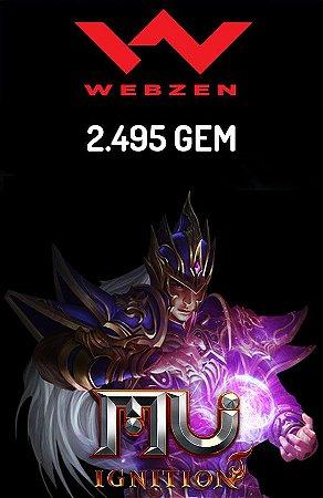 Mu Ignition - 2495 Gem