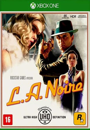 LA Noire - Xbox One - Mídia Digital