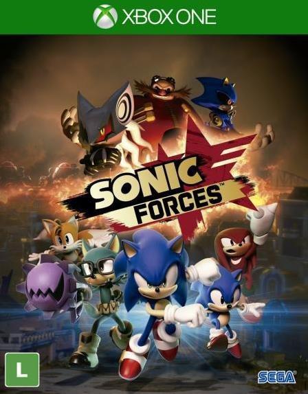 Sonic Forces - Xbox One - Mídia Digital