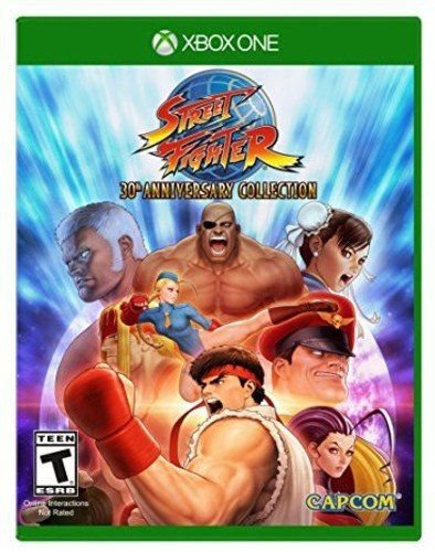 Street Fighter 30th Anniversary Collection  - Xbox One - Mídia Digital