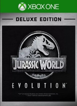 Jurassic World Evolution Deluxe Edition - Xbox One - Mídia Digital