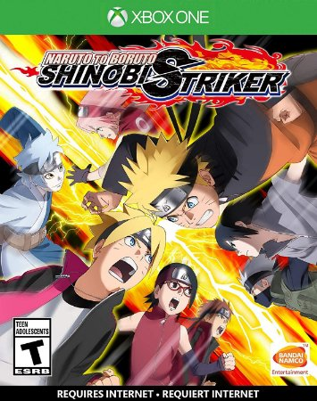 Naruto to Boruto: Shinobi Striker  - Xbox One - Mídia Digital