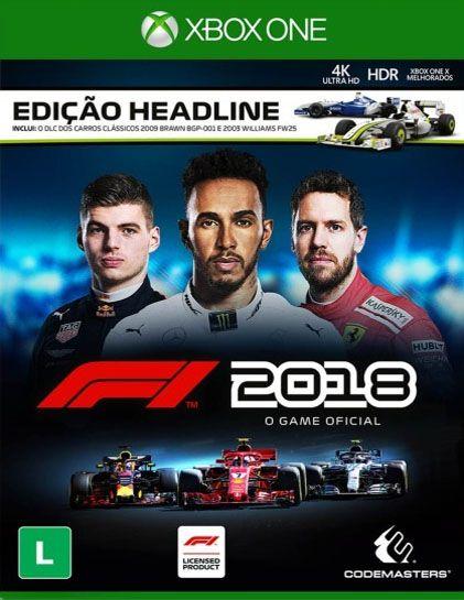 Formula 1 F1 2018 - Xbox One - Mídia Digital