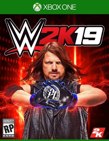 WWE 2k19 - Xbox One - Mídia Digital