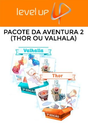 Ragnarok - Pacote Da Aventura 2 (Thor ou Valhalla)