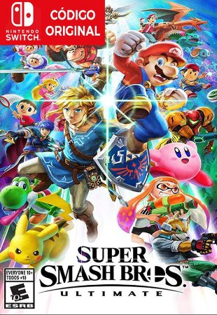 Super Smash Bros Ultimate - Nintendo Switch Digital