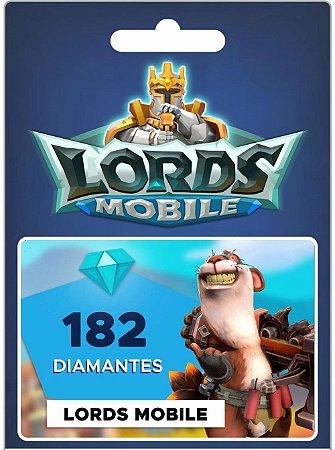 Lords Mobile - 182 Diamantes