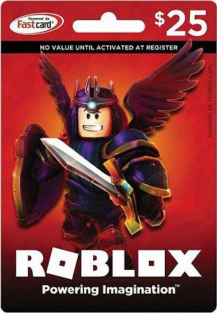 Roblox - Cartão 2000 Robux