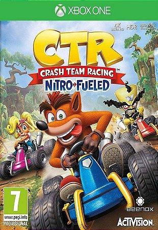Crash Team Racing Nitro Fueled - Xbox One - Mídia Digital