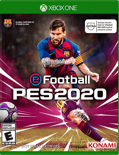 PES 2020 (Pro Evolution Soccer 20) - Xbox One - Mídia Digital