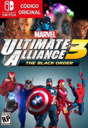 Marvel Ultimate Alliance 3: The Black Order - Nintendo Switch Digital