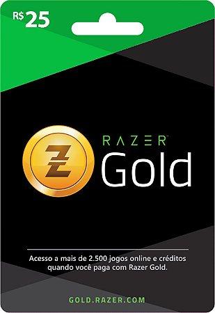 Razer Gold PIN Rixty - Cartão R$ 25