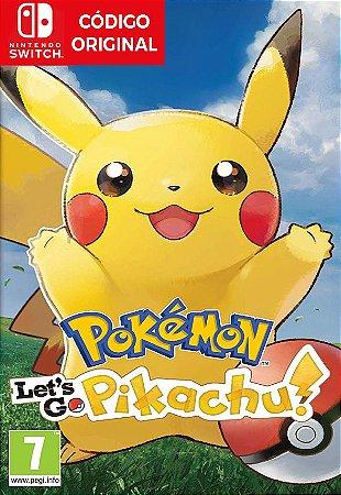 Pokemon Lets Go Pikachu - Nintendo Switch Digital