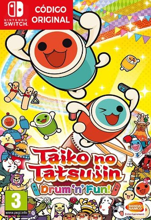 Taiko no Tatsujin: Drum 'n' Fun!  - Nintendo Switch Digital