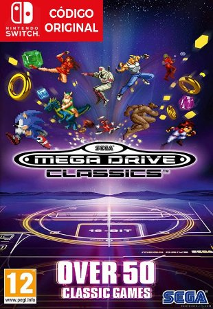 SEGA Genesis Classics - Nintendo Switch Digital