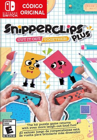 Snipperclips: Cut it out, Together! - Nintendo Switch Digital