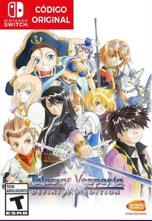 Tales of Vesperia: Definitive Edition - Nintendo Switch Digital