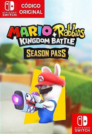Mario + Rabbids Kingdom Battle: Season Pass - Nintendo Switch Digital