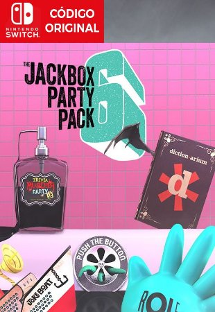 The Jackbox Party Pack 6 - Nintendo Switch Digital