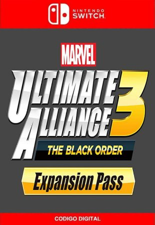 Marvel Ultimate Alliance 3: The Black Order Expansion Pass - Nintendo Switch Digital