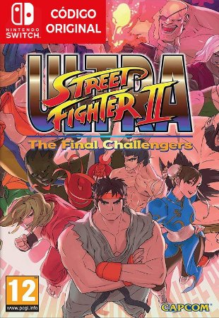 Ultra Street Fighter II: The Final Challengers - Nintendo Switch Digital
