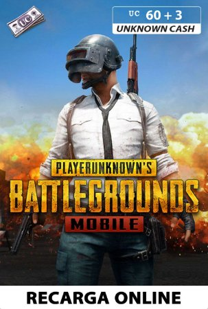 PUBG Mobile - Unknown Cash - 60 + 3 UC