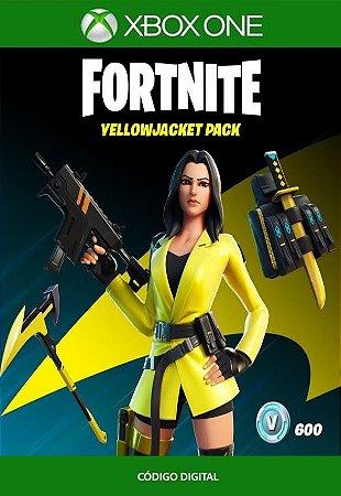 Fortnite : Pacote Mandarina - Xbox One - Código de 25 Dígitos