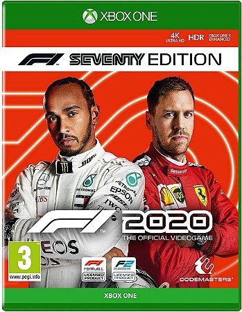 Formula 1 F1 2020 Seventy Edition - Xbox One - Mídia Digital