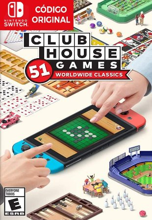 Clubhouse Games: 51 Worldwide Classics - Nintendo Switch Digital