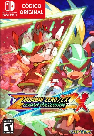 Mega Man Zero/Zx Legacy Collection - Nintendo Switch Digital