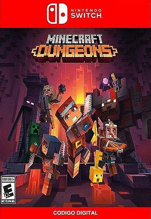 Minecraft Dungeons Edição do Heroi  - Nintendo Switch Digital