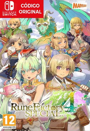 Rune Factory 4 Special - Nintendo Switch Digital