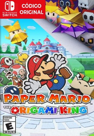 Paper Mario: The Origami King - Nintendo Switch Digital