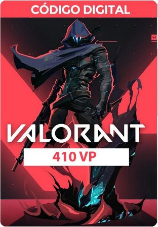 Valorant - VP Card - RIOT GAMES 410 VP