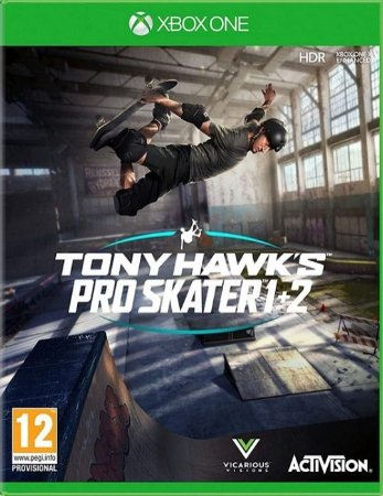 Tony Hawk's Pro Skater 1 + 2 - Xbox One - Mídia Digital