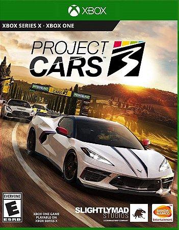 Project CARS 3 - Xbox One - Mídia Digital