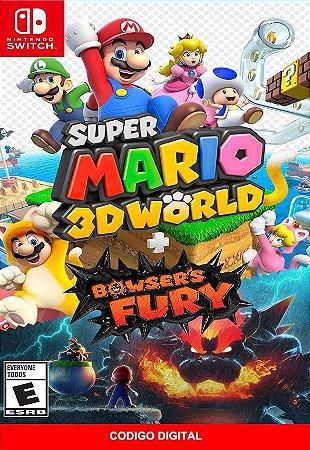 Super Mario 3D World + Bowser's Fury - Nintendo Switch Digital