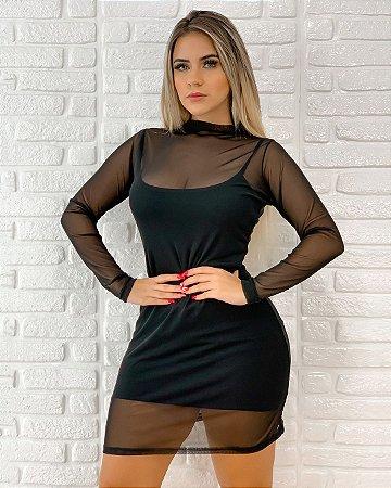 Vestido de Tule + Vestido