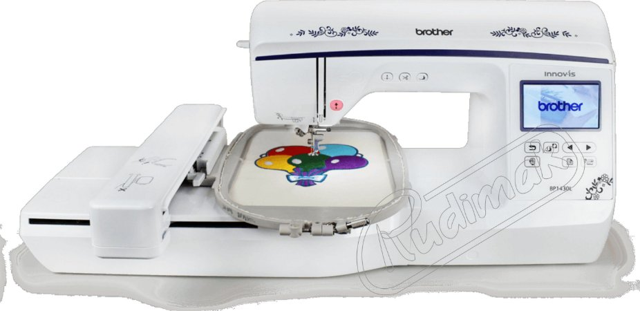 Maquina de bordar BROTHER BP1430L RUDIMAK