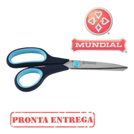Tesoura Softy 21Cm Mundial 1860-8 1/2