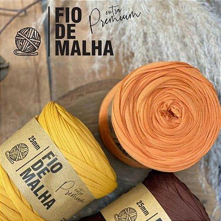 Fio De Malha Extra Premium 25mm Com 140mts