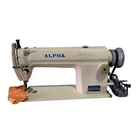 Maquina Reta Ponto Fixo Alhpa Lh-8500