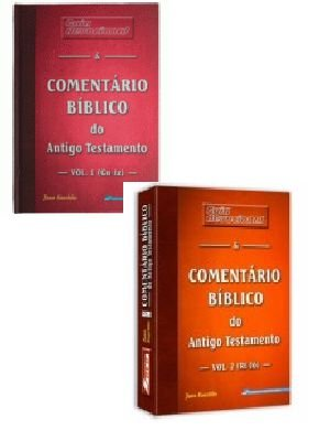 Coleção Comentário Bíblico em 2 volumes (NT veja código MD5)